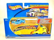 Hot Wheels Pavement Pounder Speedy Cluck Ford Pickup Truck 1:64 Die Cast Car Rig