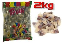 Trolli Sour Cola Bottles 2kg Bag Party Favors Candy Buffet Gummy Bulk Lollies