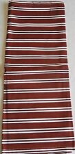 """PATRIOTIC Kitchen Towel RED AND WHITE STRIPES 13.5"""" x 28""""  100% Cotton"""