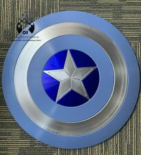 Captain America Shield 1:1  ABS Stealth/Blue 57cm Cosplay Halloween gift props