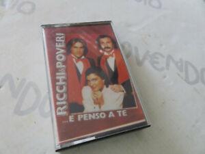 MUSICASSETTA MC K7 RICCHI E POVERI E PENSO A TE  originale Siae