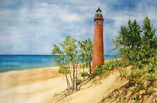 Little Sable Lighthouse on Lake Michigan, Great Lakes 4
