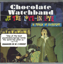 AT THE LOVE-IN LIVE!  by The CHOCOLATE WATCHBAND -  ROIR - NEW SEALED CD