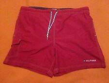 Mens Tommy Hilfiger Mesh Lined Swim Trunks Shorts Sz Lg Red