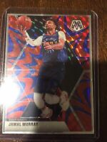 2019-20 PANINI MOSAIC JAMAL MURRAY DENVER NUGGETS #141 BLUE REACTIVE NM PSA10?