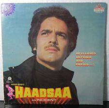 Haadsaa LP Viny Record Music kalyanji anandji Bollywood Indian Gate Fold EX
