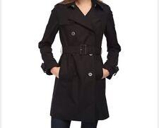 Sold Out! BNWT DVF Diane Von Furstenberg Black Trench Coat Sandrine Jacket XS