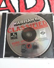WarHawk (Sony PlayStation 1, 1995) game only