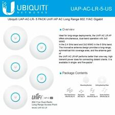 Ubiquiti UAP-AC-LR-5-US 802.11ac Long Range Access Point (5-pack)