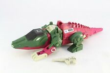 Transformers G1 Skullcruncher Headmasters With Tail and Gun (No Grax)