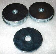 11 x M6 - 30mm Repair Washers anti-rust zinc plated, mudflaps, heatshield repair