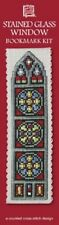 Textile Heritage Counted Cross Stitch Bookmark Kit - Stained Glass Window