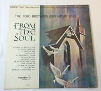 SEGO BROTHERS AND NAOMI SING ~ From The Soul LP ~ Gospel Time GT 5007