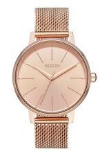 Nixon A1229-897 Kensington Milanese Women's Watch Rose Gold 37mm Stainless Stee