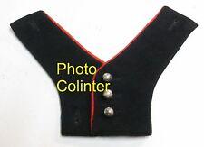 Plastron de tradition d'off. Cuirassier à porter avec veste mle 1952/58