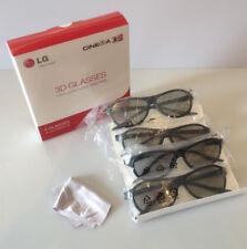 NEW OTHER QTY 4 LG 3D GLASSES FOR MODEL 60LA7400 65LA9650 55LA6900 60LA6200