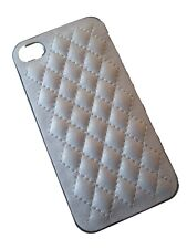 Housse Etui Coque Cover Dur Case Rigide Chrome Pour Apple iPhone 4