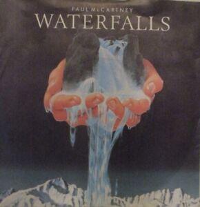 "PAUL MCCARTNEY - Waterfalls ~ 7"" Single PS"