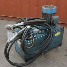 EHI Hydraulic power pack 5.5kW 7.5HP 3 phase Vickers & Bosch solenoid valves