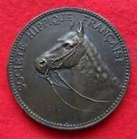 médaille boulogne sur mer - concour de dressage et de menage 1910 en bronze