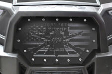 Steel Grille for Polaris UTV Part RZR 1000 900 S XP 14-18 LIBERTY OR DEATH Grill