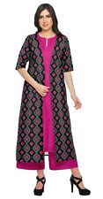 Moomaya 3 Piece Indian Clothing For Women Cotton Chanderi Ethnic Wear