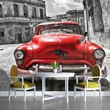 Kinder Fototapete Fototapeten Tapete Wand Bild Foto Bild KUBA CUBA CAR 3FX1181P4