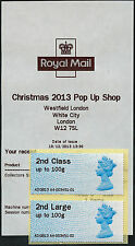 MA12 2nd/2nd LARGE PAIR WESTFIELD XMAS POP UP SHOP LAST DAY OF TOUR A4 POST & GO
