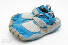 VGC! Vibram Fivefinger W4456 Treksport Women Sz 36/6 Barefoot Running Blue/Gray