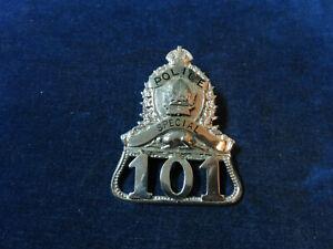 """Orig Antique Obsolete Cap Badge """"Special - 101"""""""