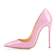 Vogue Womens Pointy Toe High Heel Pull On Stiletto Pumps Super Sexy Party Shoes