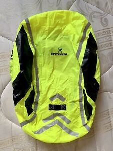 3x Hi-Viz Reflective Backpack Rucksack Cover Bike 40L Night Time Cycling Safety