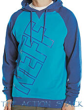 J1547 • Neff Corporate Hoodie * NWT Mens Size XL Blue / Teal - #26798