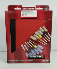 Craftsman 12-Piece Nut Driver Set Metric/SAE Made in USA (New, Open Box)