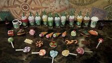 Littlest Pet Shop ❤ 6 PC Lot ❤ Random LPS Hamburgers Starbucks Ice Cream Food