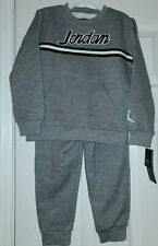 Jordan Toddler Boys Sweatsuit 2pc. Set Gray 4t