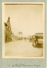 France, Col du Petit St-Bernard et Hospice, ca.1900, vintage citrate print Vinta