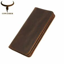 Vintage Long Wallet Men Casual Fashion Card Holder Cowboy Style Coin Purse