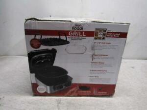 Ninja Foodi 5-In-1 Indoor Grill With Air Fryer In Silver/Black, AG302