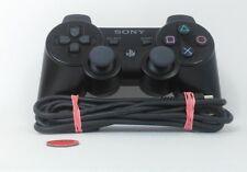 Original Sony Dualshock 3 PS3 controlador + USB cable de carga | Negro | g usado