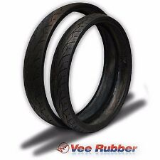 """VEE RUBBER 26"""" FRONT TIRE 120/50-26 HARLEY STREET GLIDE ROAD GLIDE ELECTRA KING"""