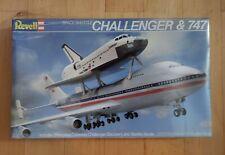 1/288 REVELL MODEL KIT - 4527 - SPACE SHUTTLE CHALLENGER & 747