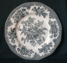 VINTAGE ENOCH WEDGWOOD COTTAGE ROSE PATTERN IRONSTONE CHINA DINNER PLATE