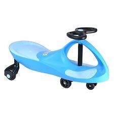 boppi Light Blue Wiggle Swing Car Ride On Swivel Scooter Gyro Twist & Go Kids