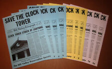 Back to the Future 10X Save the Clock Tower Flyer - Best Screen Accurate Replica