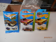 hot wheel brazilian chargers set of 3   2 blisters and 1 mystery