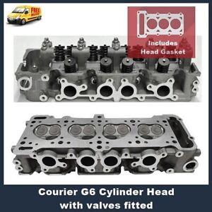 Courier G6 Cylinder Head Assembled with Valves includes Vrs Gasket Set