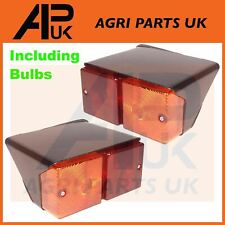 Ford New Holland Case International Fiat Tractor Rear Lights Lamps Pair LH & RH