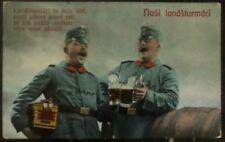 1916 Eger Czechoslovakia Feldpost Picture Postcard Cover WW1 Our Land