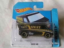 HOTWHEELS MADE IN MAYLASIA 49/250 super van swat
